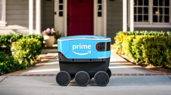 Scout, Amazon's Self-Driving Delivery Robot, Heads to California